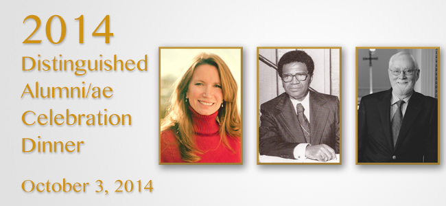 2014 Distinguished Alumni Celebration Dinner